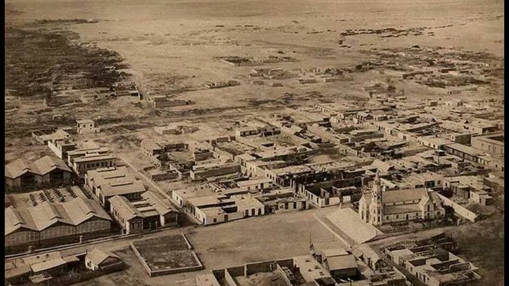 La toma de Arica. Fotografía Díaz & Spencer.