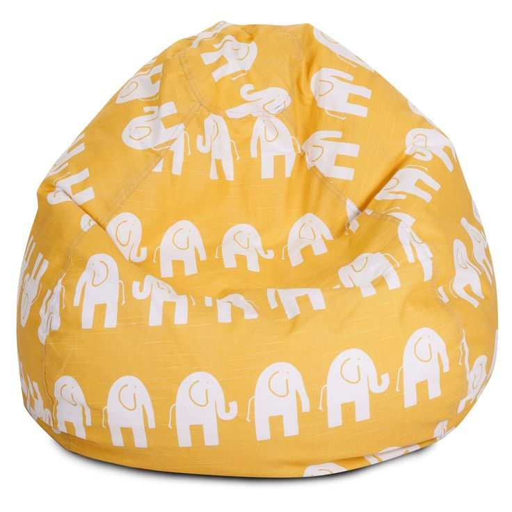 Yellow Ellie Small Classic Bean Bag