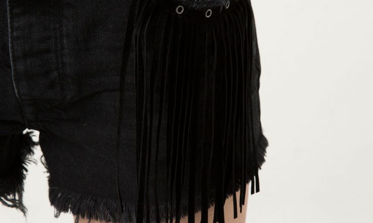 Бахрома на шортах #DIY #fashionattack #шорты