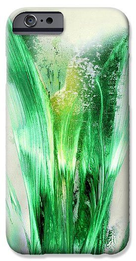 Lily Of Life IPhone 6s Case Printed with Fine Art spray painting image Lily Of Life by Nandor Molnar (When you visit the Shop, change the orientation, background color and image size as you wish)