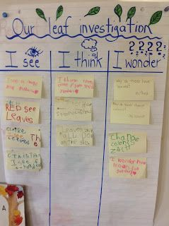 "Our Kindergarten Journey: Celebrating our ""Think Work"" (Inquiry, fantastic blog)"