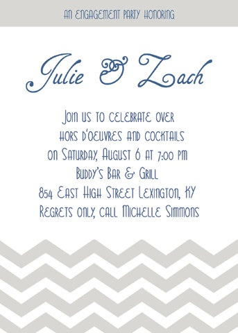 12 best Engagement Party Ideas and Cards images on Pinterest - how to word engagement party invitations