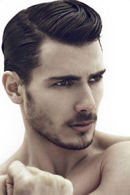 Peinado de moda para hombres