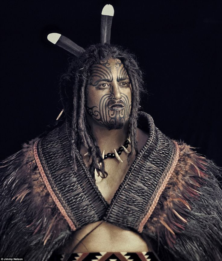 The Maori are the indigenous people of New Zealand and are known as as daring and resourceful adventurers photographer: Jimmy Nelson