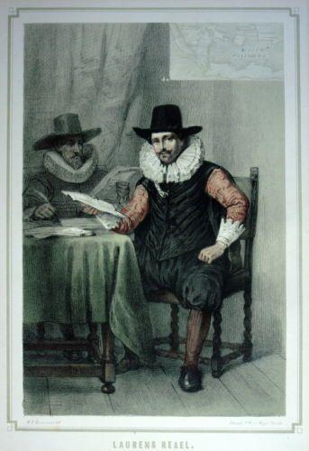 Laurens Reael   Chromo litho , Size : 20 x 28 cm Time : 1868 Herkomst : Neerlands Roem,Galerij van Beroemde Nederlanders.Grafische kunst   eBay