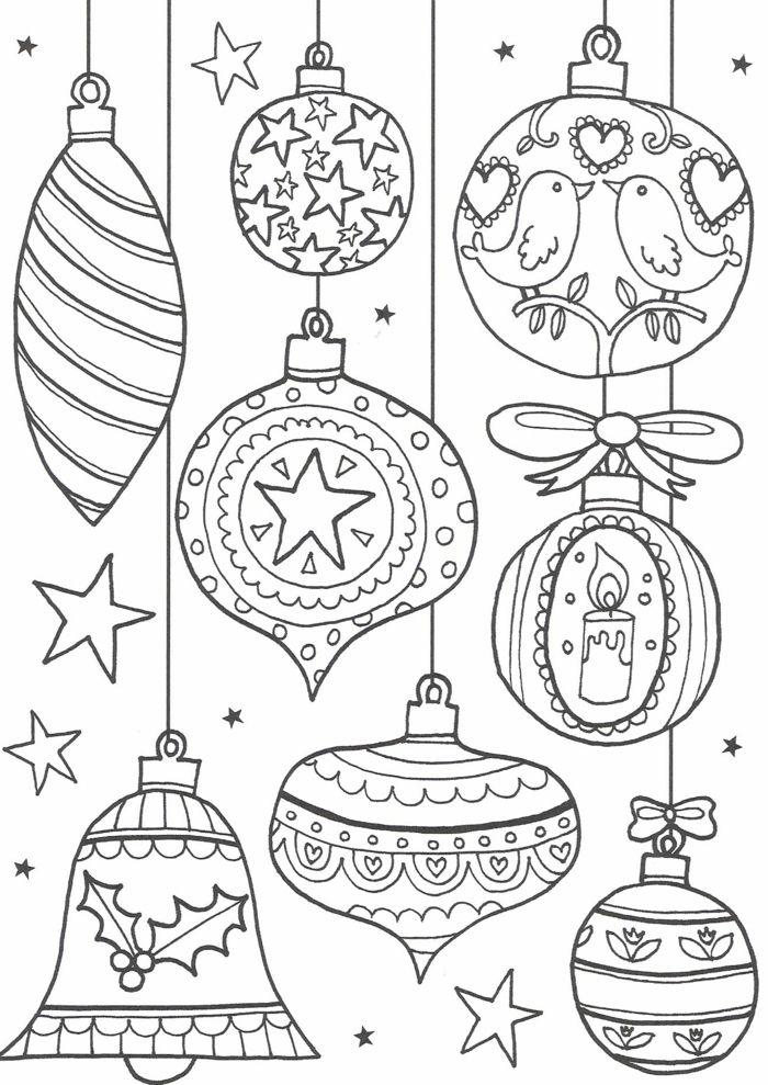 Bonitos Dibujos De Navidad Para Colorear Faciles.1001 Ideas De Dibujos Navidenos Para Colorear Mis
