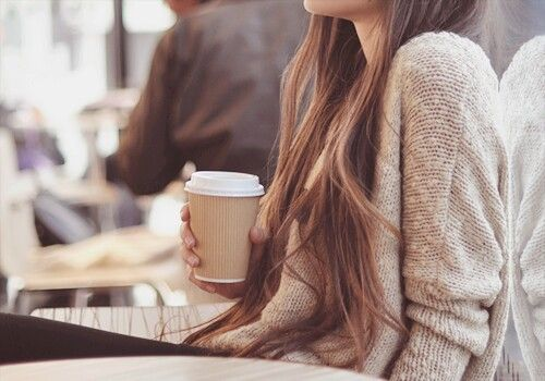 autumn, beautiful, beauty, beyourself, brown, cafe, coffee, cozy, fashion, girl, hair, happy, ilikeit, justgirlythings, life, longhair, style, sweater, weheartit, sweaterweather, coldweather, First Set on Favim.com, coffeetime, autumnstyle, girlystyle