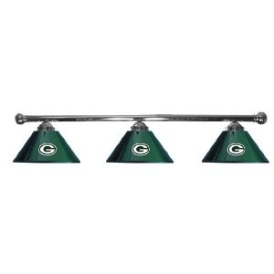 green bay packers pool table bar lights