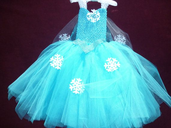 Frozen tutu dress Frozen party dress Elsa by Dreambygirlboutique, $60.00