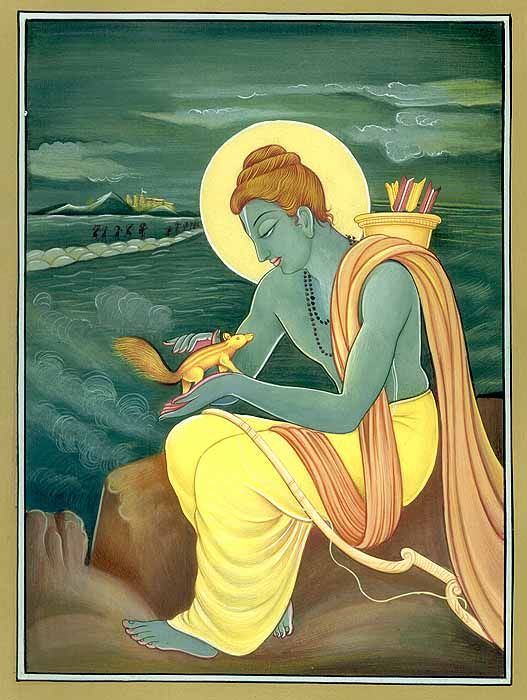 Indian Stories For Children: Lord Rama and the squirrel
