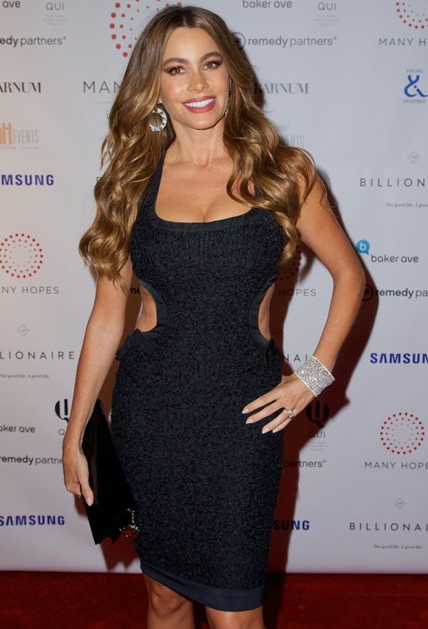 "Sofia Vergara at the ""Discover Many Hopes"" charity event in New York City on June 19, 2013"