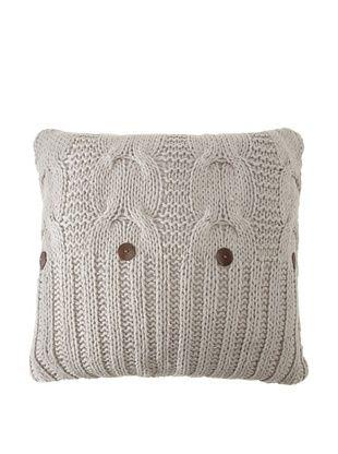 Amity Cable Knit Euro (Gray)