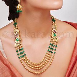 art karat nupur necklace gold diamond gold pinterest jewelry