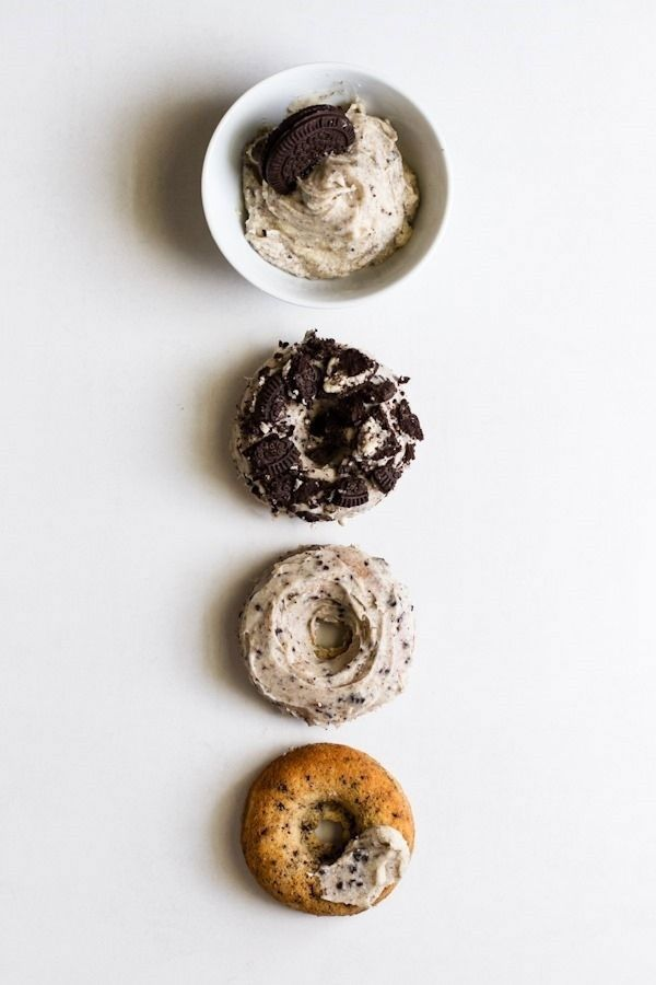 cookies + cream donuts
