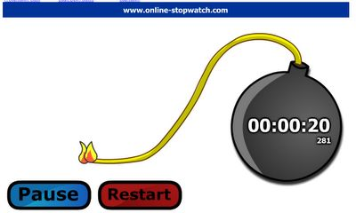 Online time management tools - the online clock; http://www.online-stopwatch.com/, is quite handy for breaking a project into small doable parts