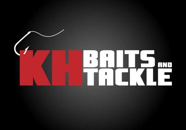 """Logo for """"KH Baits and Tackle"""" by Studio Phunc"""