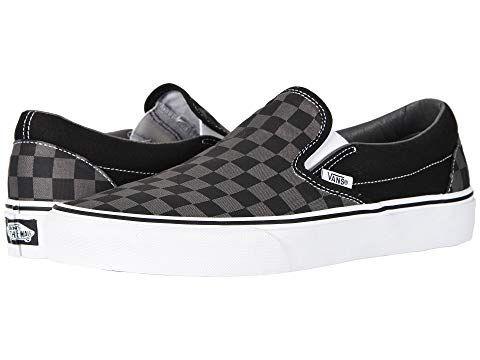 a2fe05d34aea96 Vans Classic Slip-On™ Core Classics (Checkerboard) Black Pewter ...