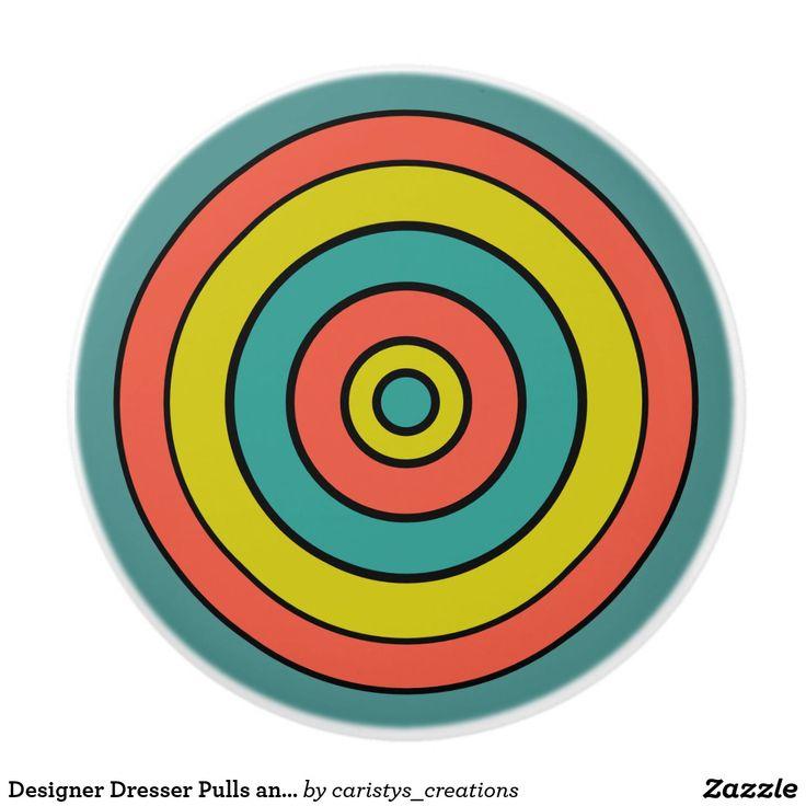 Designer Dresser Pulls and Knobs Wheels of Life