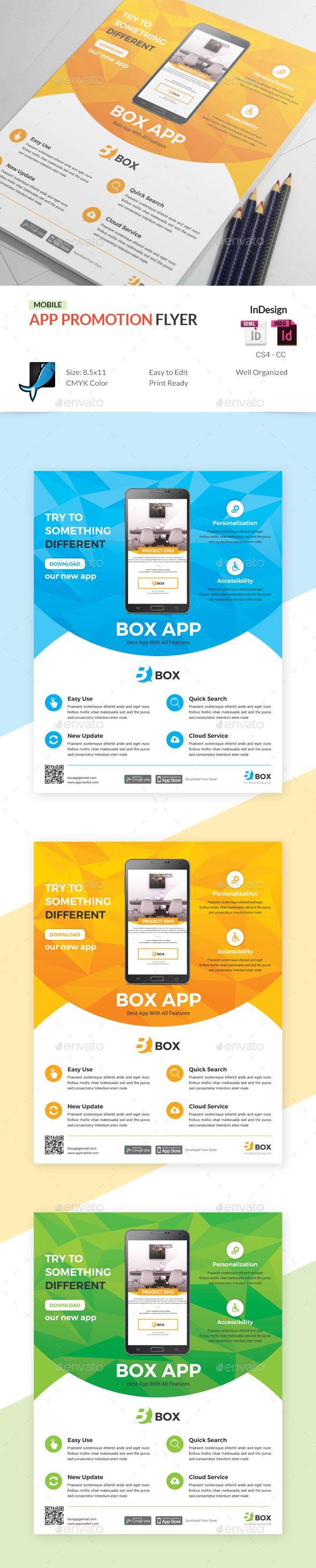 #Mobile #App Promotion #Flyer - Commerce Flyers Download here: https://graphicriver.net/item/mobile-app-promotion-flyer/19747397?ref=alena994