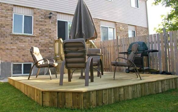 Floating decks floating deck how to build a floating for Simple floating deck plans
