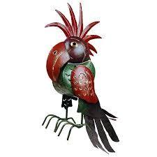 Grappige vogel van metaal