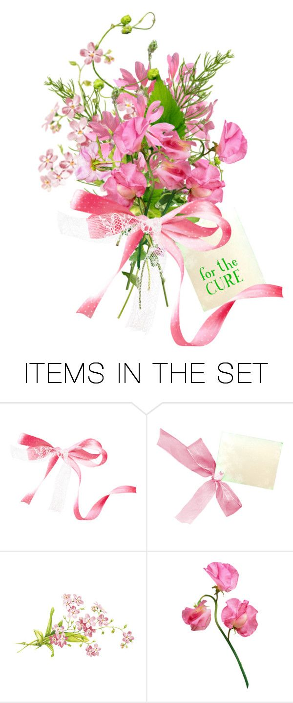 Color art tipografia -  Pink For The Cure By Kateadams 2501 Liked On Polyvore Featuring Art