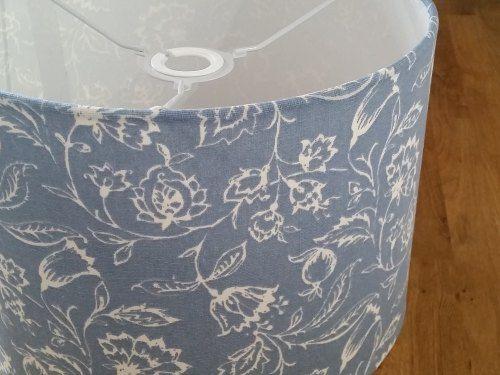 Drum Lampshade Marie Wedgewood Fabric