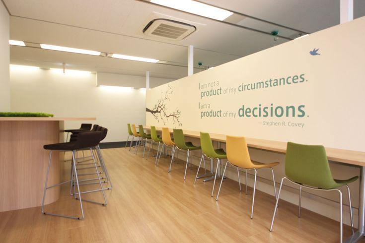 モチベーションが上がるオフィス|オフィスデザイン事例|デザイナーズオフィスのヴィス