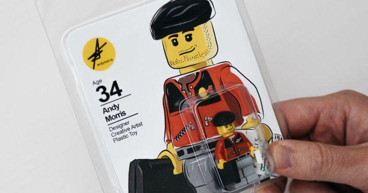 レゴを使った履歴書?イギリス人男性の素敵なアイディア