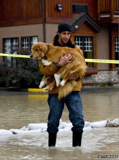 BBC News (World) ‏@BBCWorld 1m  Alberta, Canada, battles widespread flooding - thousands evacuated from central Calgary http://bbc.in/17sEGd5  pic.twitter.com/csfIfTuohi