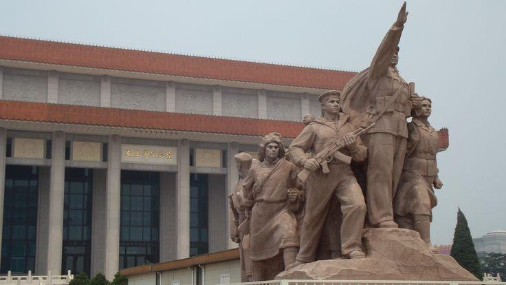 Mao Zedong Memorial, #Beijing, #China. June 2014