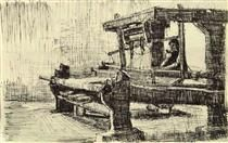Weaver Facing Left - Vincent van Gogh