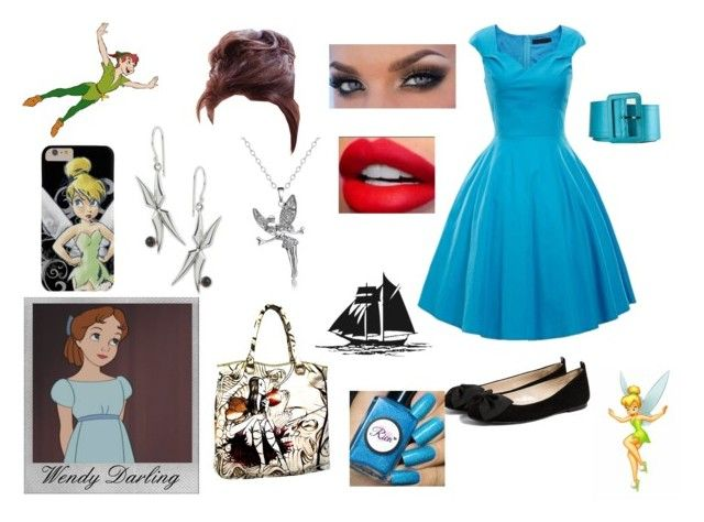 Wendy Darling Style | Peter Pan by alex-aki on Polyvore