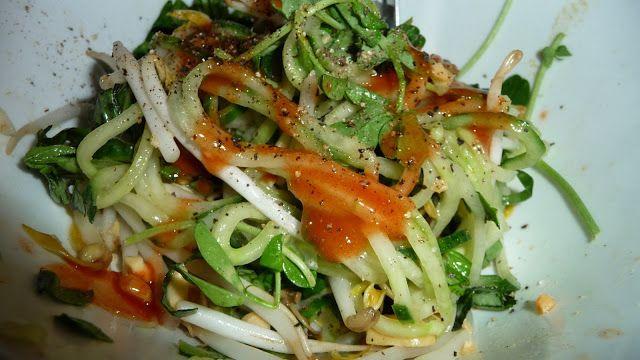 Cucumber Peanut Salad ~ Pinks Pantry | Dressings & Salads | Pinterest