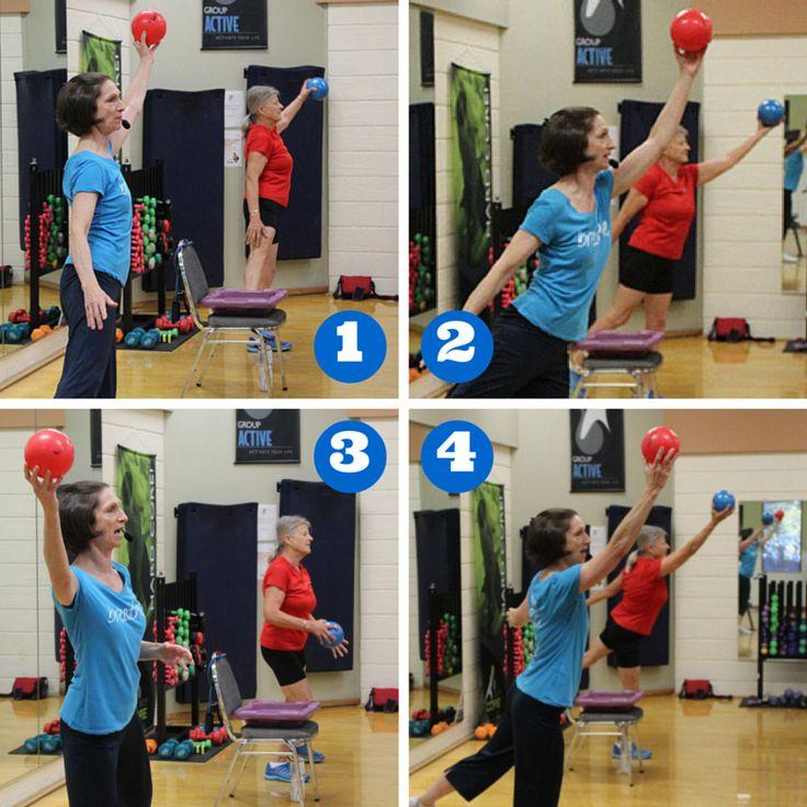Balance  Ball exercises for seniors  Exercise