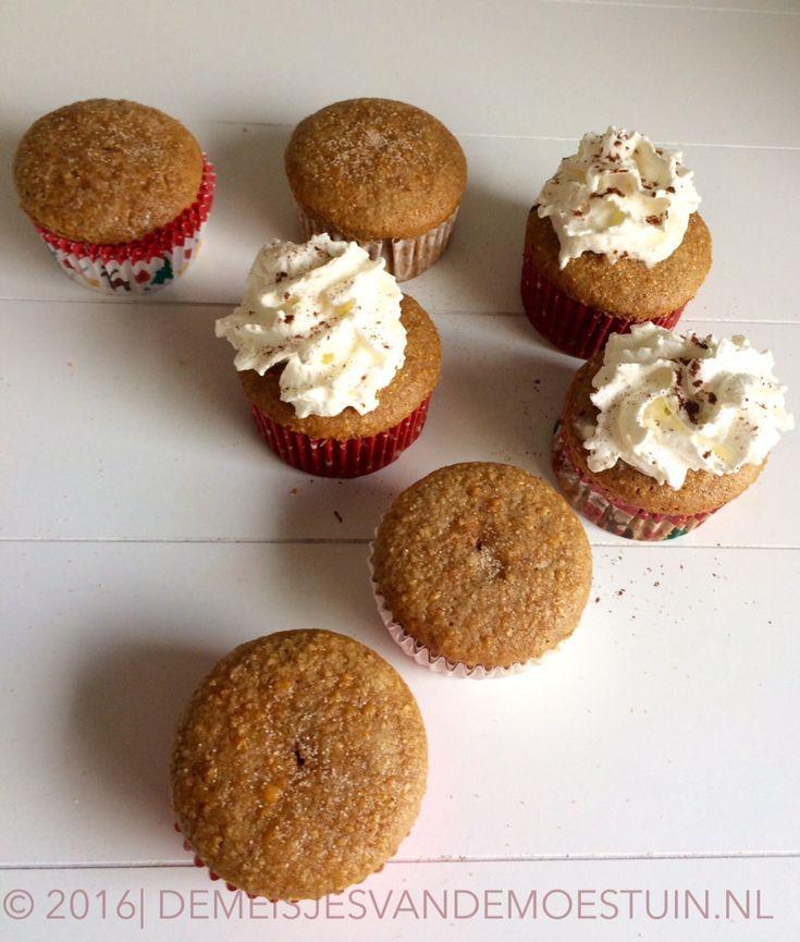 makkelijke spiced pumpkin muffins