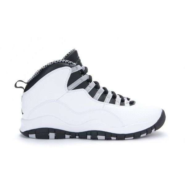 new style c35b6 4a8a3 ... Nike Mens Air Jordan Retro 10 Basketball Shoes ( 400) ❤ liked on  Polyvore featuring