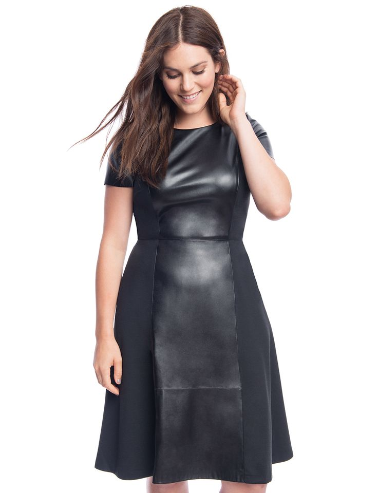 1000+ Images About + Plus Size Style + On Pinterest | Fashion To Figure Flare Dress And Lace Inset