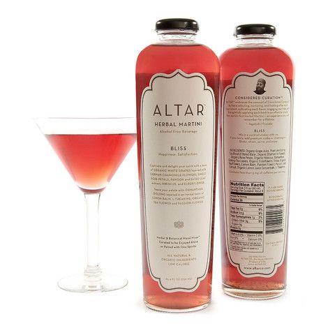 ALTAR Bliss. Herbal martini - interesting PD