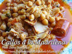Callos a la Madrileña http://www.panlasangpinoymeatrecipes.com/callos-madrilena.htm #Callos #OxTripe #OxTail #Madrileña