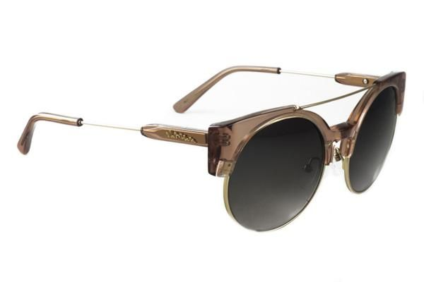 Melrose Sunglasses by Chilli Beans in Brown Crystal, $78 ...