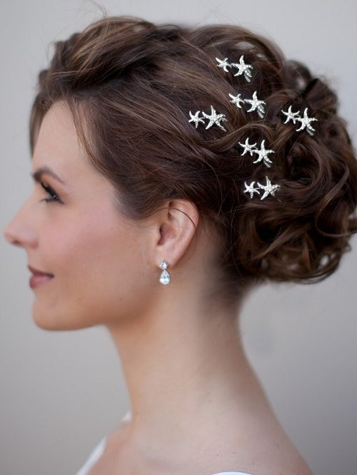 wedding hair clips or hair pins