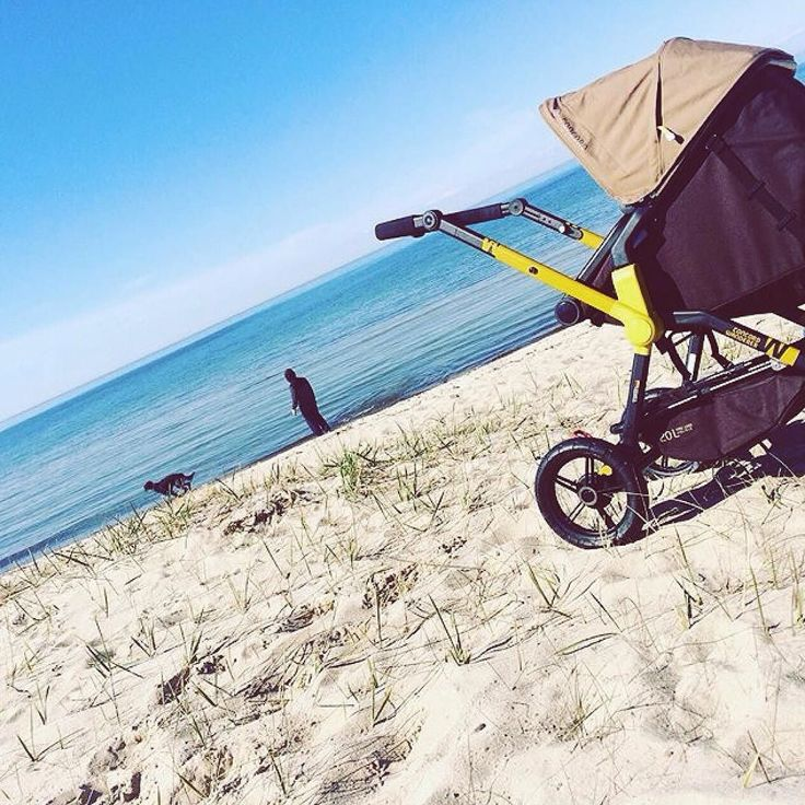 All terrain wheels = All summer experiences wheels.  #allterrain #wheels #summer #beach #sand #babyproduct #sea #beach #calm #baby #stroll #stroller #pushchair #concord #concordwanderer #kinderwagen #cochecito #bebe #perspective #diagonal #repost