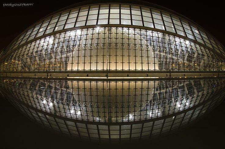 Calatrava's eye - Santiago Calatrava- Ciutat de les Arts i les Ciències, Valencia, Spain