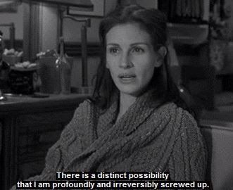 Runaway Bride - julia roberts - movie - quote - there is a distinct possibility ...