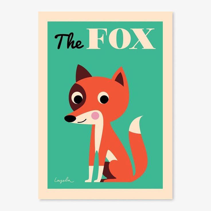 Poster van OMM Design / The fox
