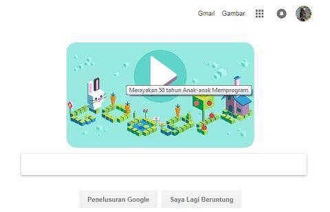 Google Doodle 50 Tahun Coding untuk Anak-Anak