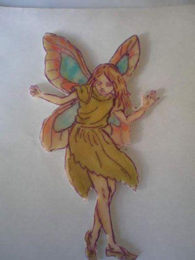 Transfert illustration sur polymère , Technique de Fimo