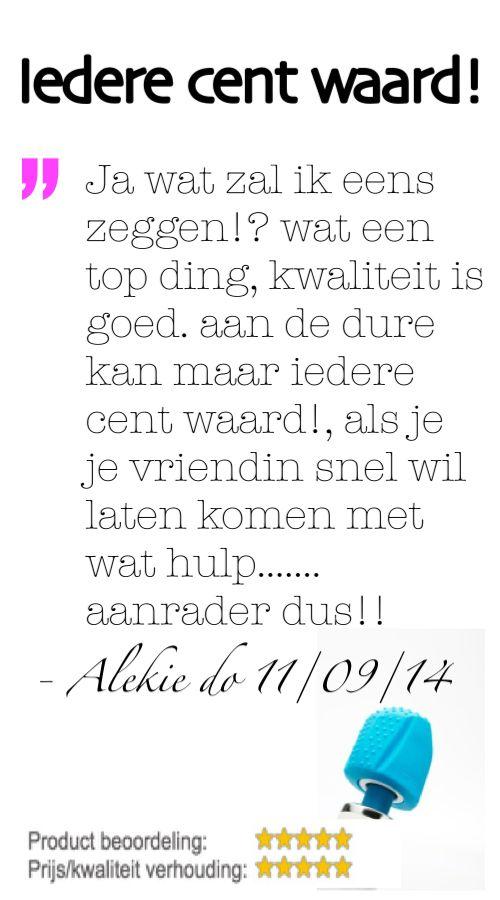 """""""Ja wat zal ik eens zeggen!? wat een top ding, kwaliteit is goed. aan de dure kan maar iedere cent waard!, als je je vriendin snel wil laten komen met wat hulp....... aanrader dus!!"""" - Alekie do 11/09/2014, Dutch owner of #EuropeMagicWand wand massager. #10outof10 stars for @EuropeMagicWand. Get more info at www.europemagicwand.nl"""