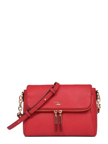 8fcb4ea45557e Dune LONDON Umhängetasche  DOROTHEA  rot  damentasche  bags  taschen   shoulderbag